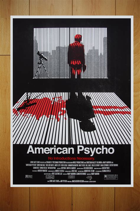 American Psycho Essay by American Psycho Poster On Behance