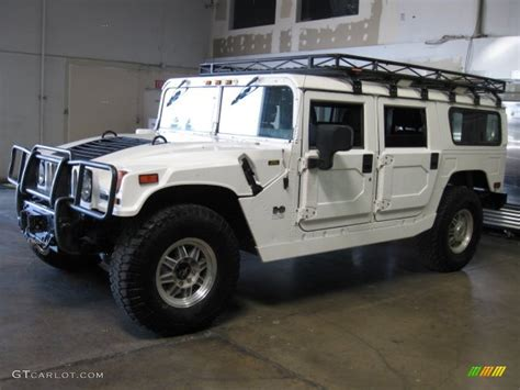 white h1 hummer bright white 2003 hummer h1 wagon exterior photo 73189443