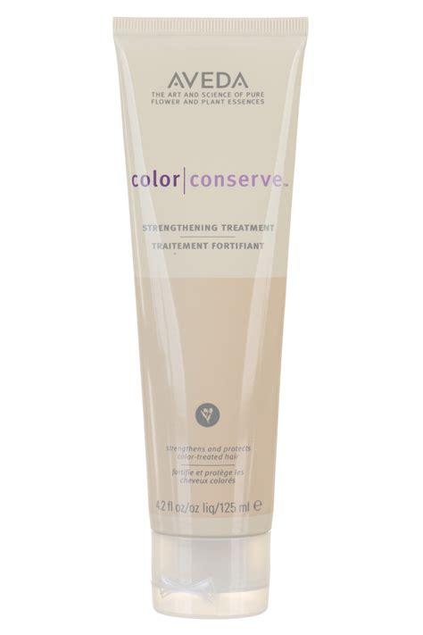 aveda shoo for color treated hair aveda color conserve strengthening treatment 4 2 oz for