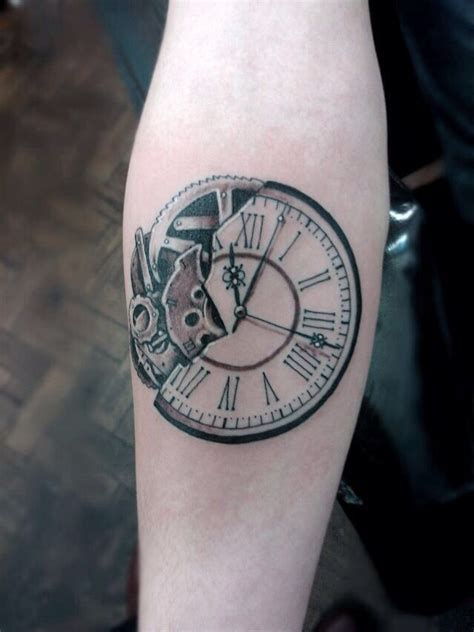 time piece tattoo best 25 time ideas on clock
