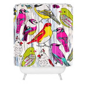 couture home birds shower curtain by deny designs