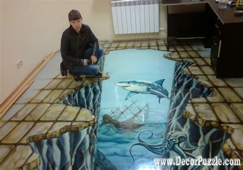 bathroom floor 3d art 3d bathroom floor murals designs and self leveling floors