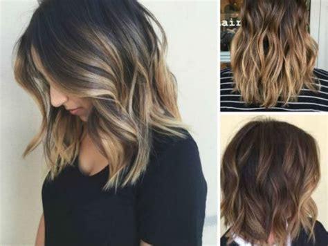 mechas balayage cabello corto mechas para pelo corto y media melena 2018 de peinados