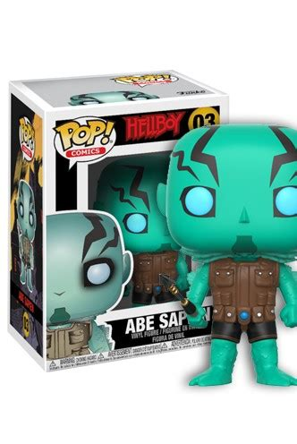 Funko Pop Comics Hellboy Horns Ver Hellboy Comics pop comic hellboy abe sapien raccoongames es