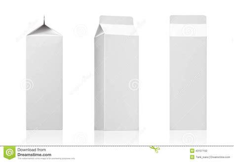 Milk Tea Diary Ready Stock milk juice or beverage pack white paper b stock illustration image 43107150