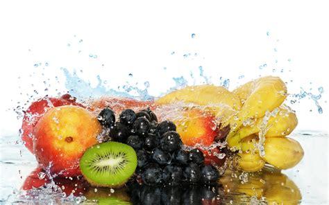 fruit water refreshing fruit wallpaper