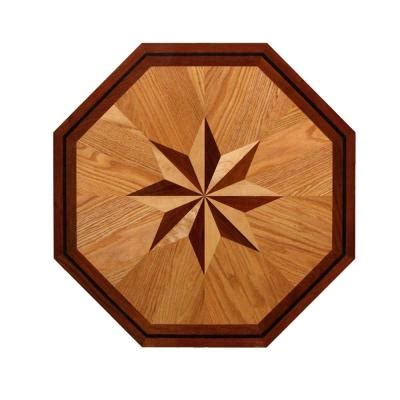 Decorative Inlays by Pid Floors Octagon Medallion Unfinished Decorative Wood