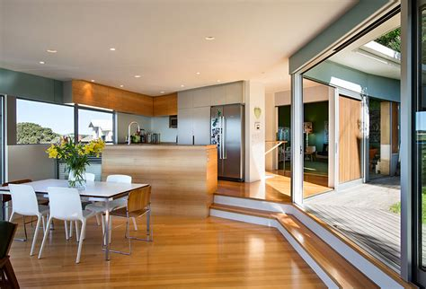new zealand home decor i love a step down living room step up kitchen harbor view kitchen pinterest living rooms