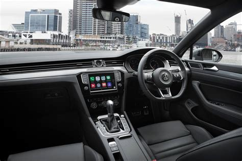 volkswagen passat 2016 interior 2016 volkswagen passat arrives in australia from 34 990