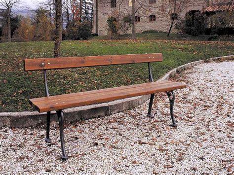 marinelli arredo urbano 113 panchina francescana per parchi e giardini da