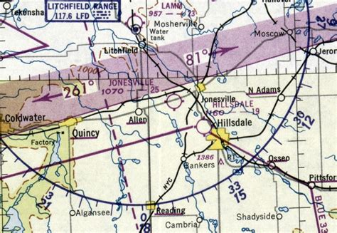 michigan sectional chart abandoned little known airfields southeastern michigan
