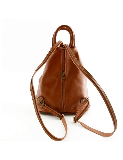 backpack with leather straps backpack for in genuine leather with adjustable straps marisol