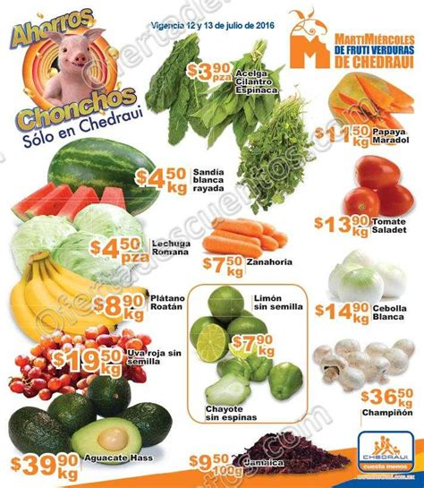 martes y miercoles de frutas y verduras chedraui 28 y 29 de enero chedraui martes y mi 233 rcoles de frutas y verduras 12 y 13