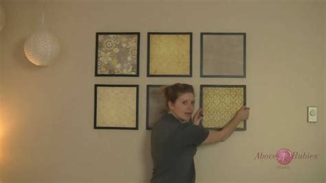how to make wall decor at home 12x12 paper wall art diy home decor collages tnt eps 003