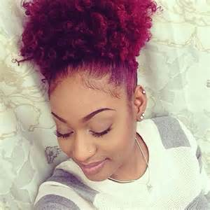 colored afro 11 secrets how to make your hair grow faster longer