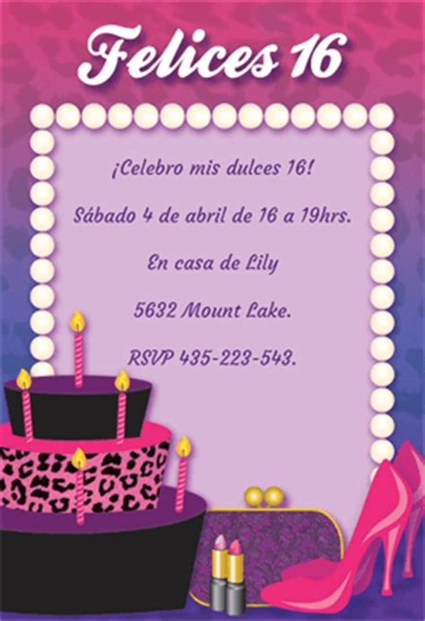 frases de los dulces 16 hnczcyw com invitaci 243 n gratis de cumplea 241 os para imprimir invitaci 243 n