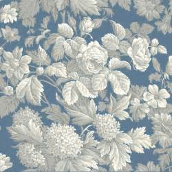 floral wallpaper for walls blue and grey antique floral wallpaper