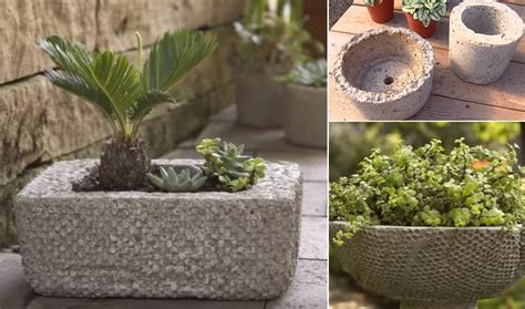 How To Make A Hypertufa Planter by How To Make Affordable Outdoor Planters Using Hypertufa