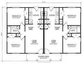 Cool House Floor Plans duplex plan chp 27564 at coolhouseplans com