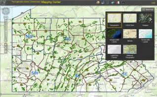 Pa State Game Lands Map by Hunter Access Program