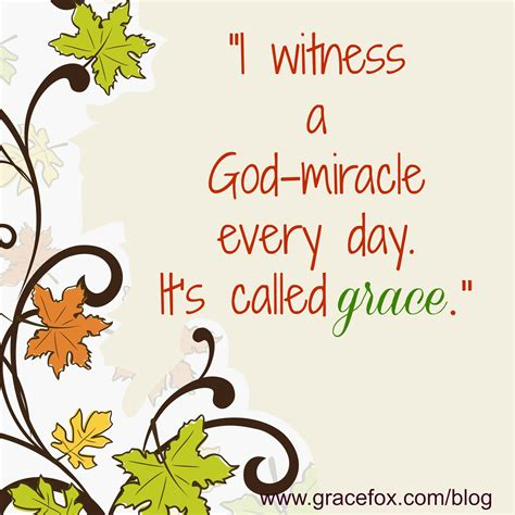The Miracle Of Grace a who me