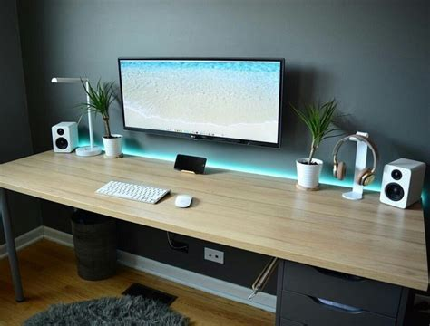 best gaming desk setup best 25 desk setup ideas on gaming desk setup