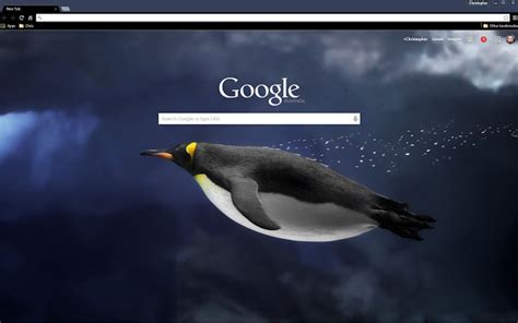 penguin underwater chrome web store