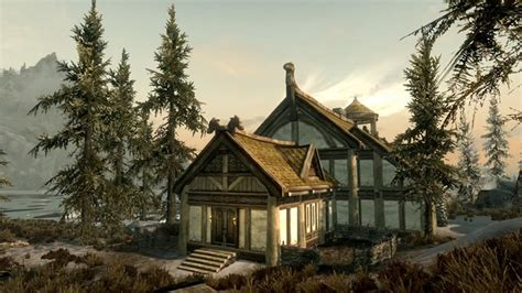 skyrim all the houses you can buy skyrim hearthfire now on pc no new updates on dawnguard ps3 slashgear