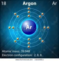 Illustration of the element argon 152409914 shutterstock