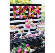 Colorful Mothers Day Party With FREE PRINTABLES Via Karas