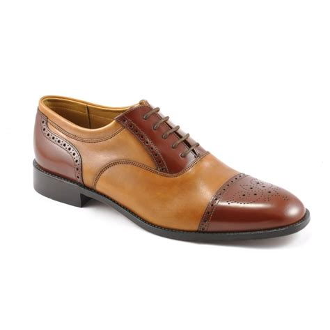 two tone mens shoes loake mens woodstock two tone tie shoe