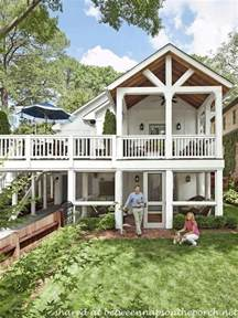 Porch Plans Porch Designs Amp Ideas Build A Two Story Porch Or Double Porch