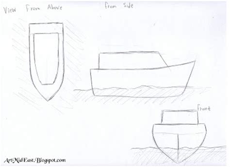 boat shape drawing how to draw a boat a step by step drawing lesson