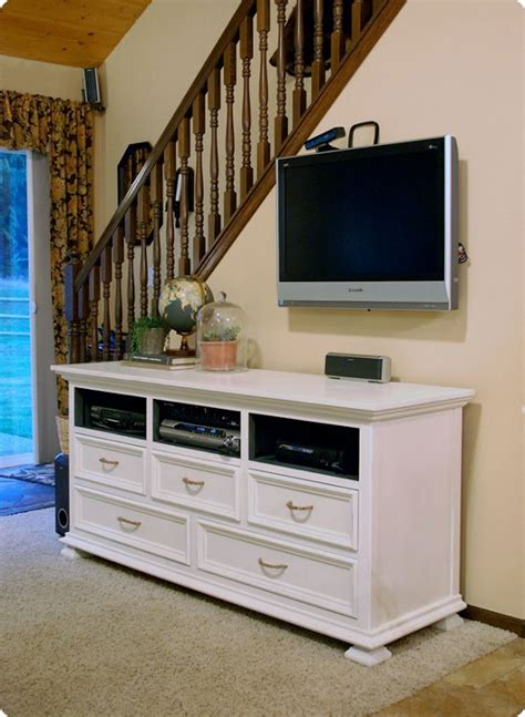 Dresser Entertainment Center by Will Work For Decor Dresser To Entertainment Center