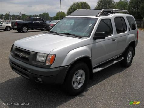 2000 silver metallic nissan xterra xe v6 48981413 gtcarlot car color galleries