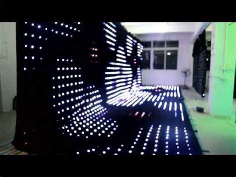 chauvet led curtain chauvet lighting sparkledrape led star cloth funnydog tv