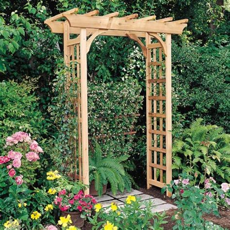 build an arbor trellis wooden arbor archives diy pergola kits