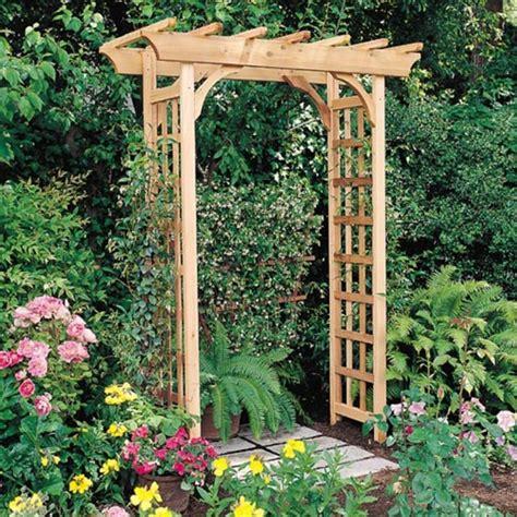 Garden Arbor Pergola Arboria Rosedale 7 Ft Cedar Pergola Arbor Diy Pergola Kits