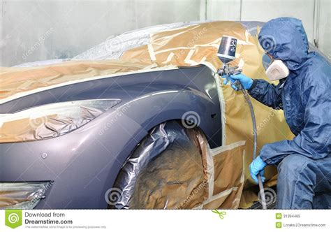car painting free professional car painting stock image image of