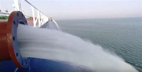 uscg updates ballast water management faqs greensea