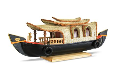 house boat buy buy kerala houseboat wooden miniature model online