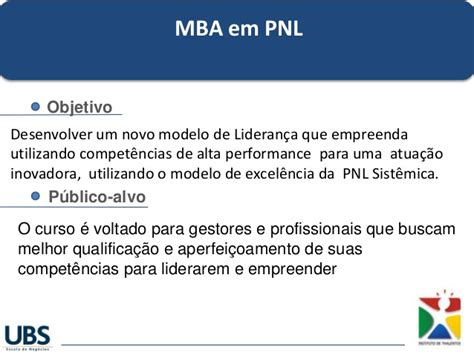 Ubs Mba by Mba Em Pnl