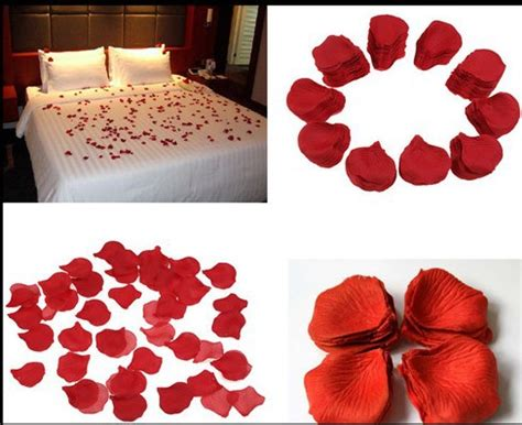 50 Pcs Table Confetti Decoration Silk Petals Flower petals 1packet supplies malaysia