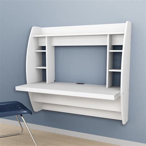 wall mounted furniture shop prepac furniture white wall mounted desk at lowes com