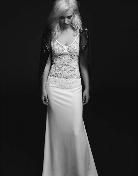 Rock Style Wedding Dresses introducing rime arodaky 2015 collection