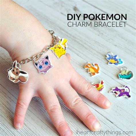 DIY Pokemon Go Charm Bracelet   I Heart Crafty Things