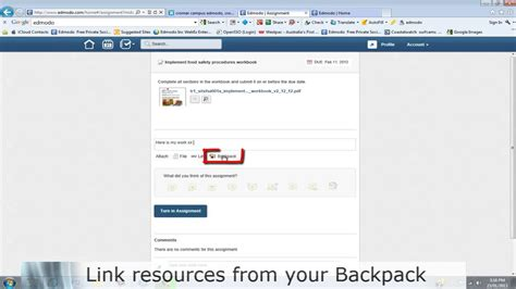 edmodo student tutorial video edmodo student training how to turn in assignments youtube