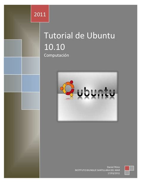 tutorial ubuntu tutorial ubuntu