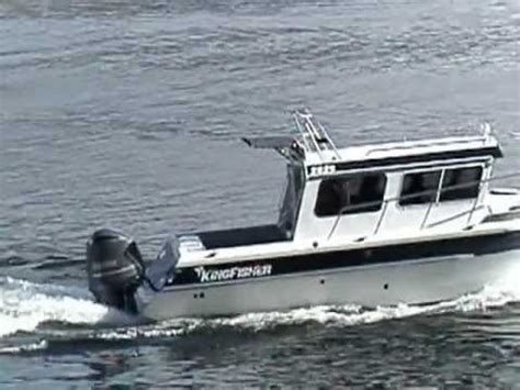 kingfisher boats review kingfisher 2825 outboard youtube