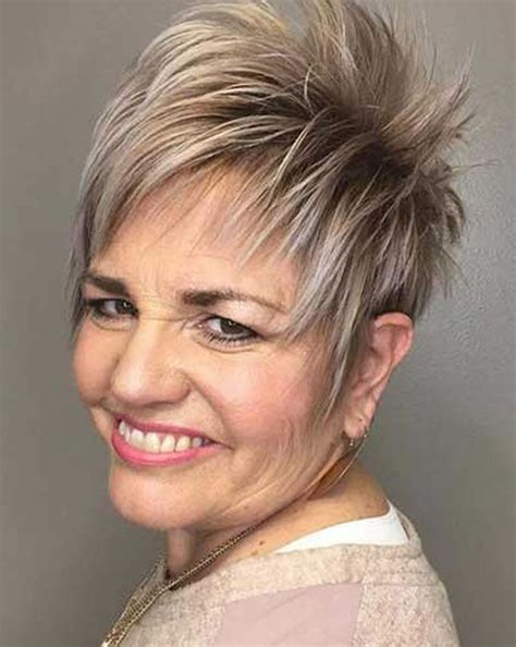 color and cut over 50 25 easy short pixie bob haircuts for older women over 50